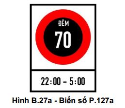 Từ 1/11: Những biển báo giao thông mới tinh này sẽ bắt đầu có hiệu lực, lái xe nào cũng phải biết 18