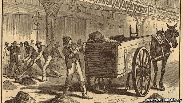 Người dân tại các thành phố lớn đã phải vất vả dọn phân ngựa đầu thế kỷ 20