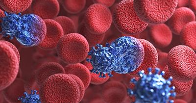 Hình ảnh minh hoạ quá trình tấn công các tế bào của virus HIV.