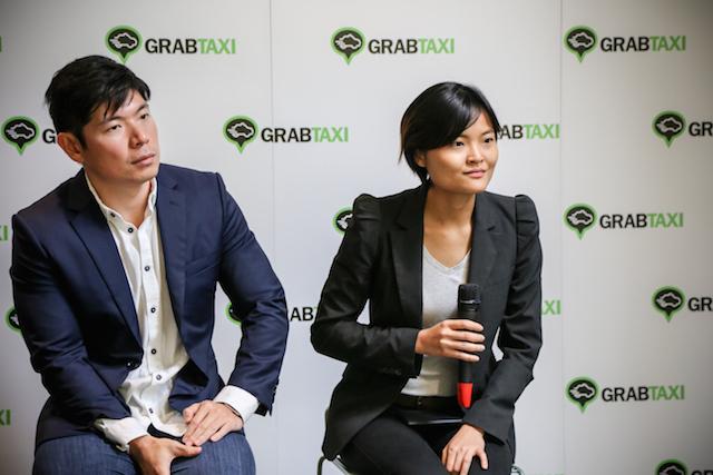 Hai nhà sáng lập Grab.