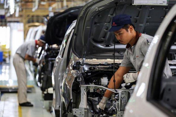 Toyota Thái Lan. Ảnh: Bloomberg.