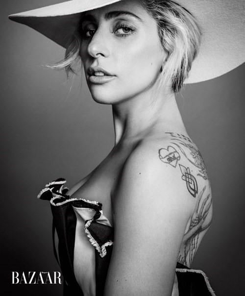 Hình ảnh mới nhất của Lady Gaga trên Bazaar/2016.