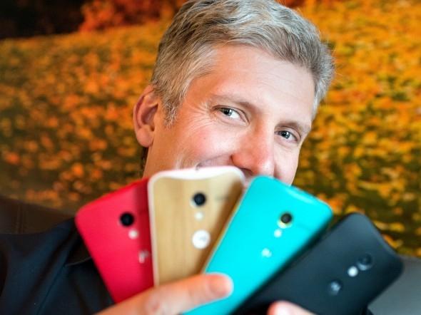 Rick Osterloh, phụ trách mảng phần cứng của Google