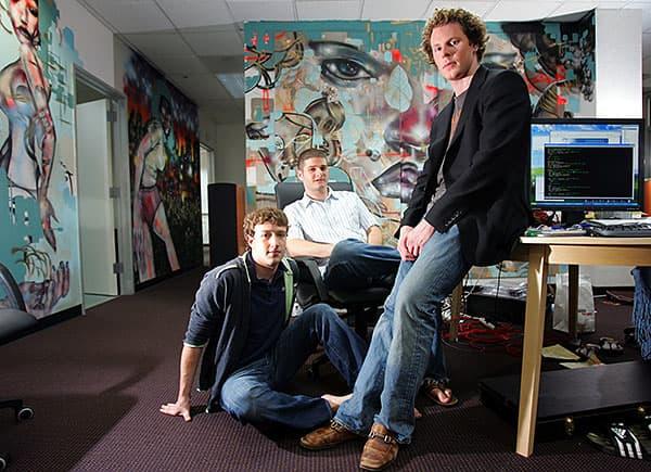 Định mệnh đã cho Sean Parker gặp Mark Zuckerberg