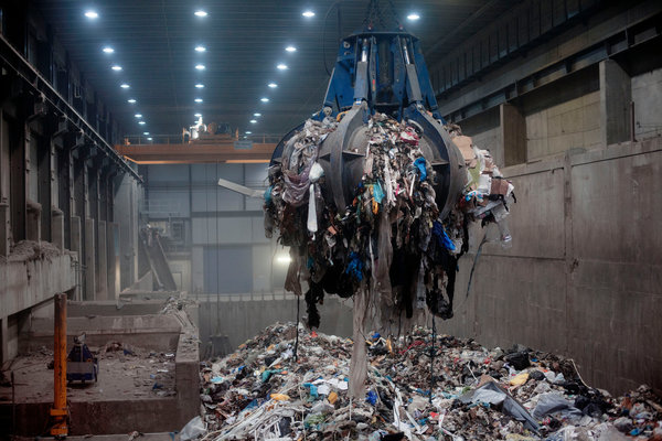 Xử lý rác thải trong nhà máy nhiệt điện Thụy Điển