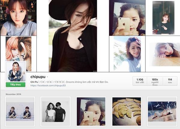 Mạng xã hội ảnh Instagram đang trở nên khá phổ biến tại Việt Nam.