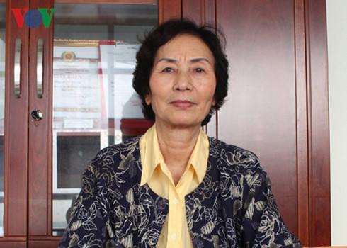 PGS.TS Bùi Thị An.