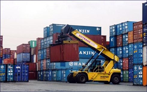 Hàng nghìn container của Hanjin vẫn chưa được giải phóng tại cảng ở Việt Nam. (Ảnh: Internet)