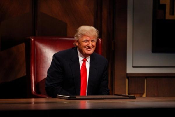 Ông Trump khi còn làm cho chương trình Người tập sự