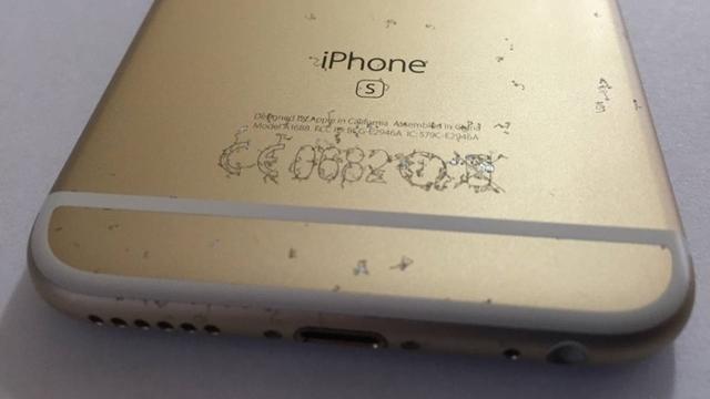 Hiện tượng tróc sơn lần đầu xuất hiện trên iPhone 6s