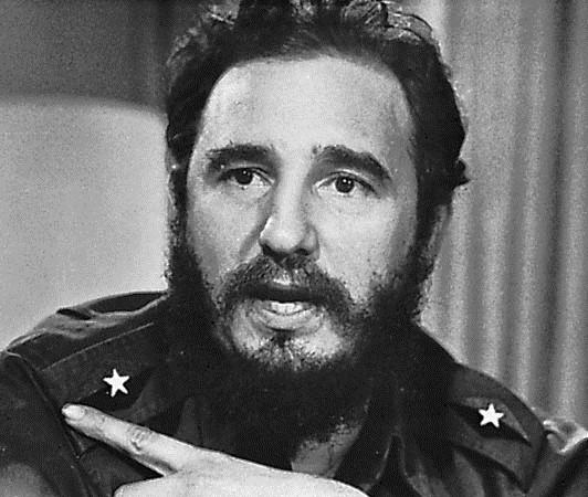 Nhà lãnh đạo huyền thoại Fidel Castro. Ảnh: QuotesGram.