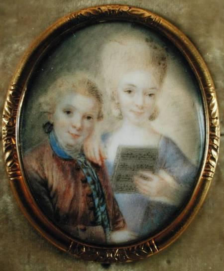 Chị em nhà Mozart