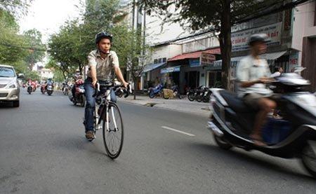 Xe đạp chỉ được xem là phương tiện kết nối vận tải công cộng.