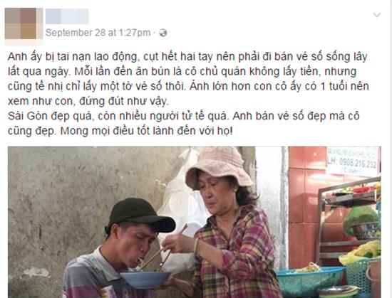 Khoảnh khắc đẹp trong quán ăn tại Sài Gòn.