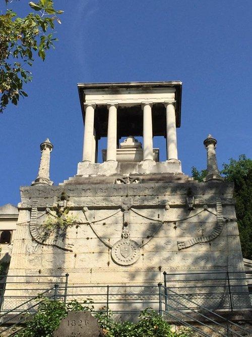 Nghĩa trang Pere la Chaise – nơi an nghỉ của đại danh hào Balzac, Moliere, La Fontaine, Chopin,….
