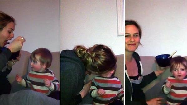 Nữ diễn viên Alicia Silverstone đã phải nhận rất nhiều sự phản đối khi công bố đoạn băng nhai và mớm thức ăn cho con. (Ảnh: Internet)