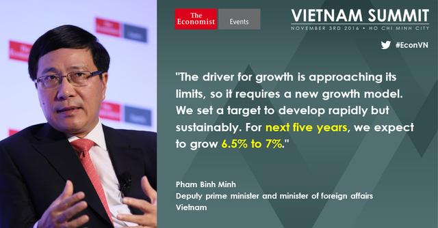 Phó Thủ tướng Phạm Bình Minh: Thay vì dùng sức người, Việt Nam sẽ đẩy mạnh sử dụng tri thức trong sản xuất - Ảnh 1.