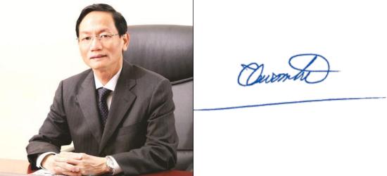 Những tỷ phú giàu nhất Việt Nam ký tên thế nào? - Ảnh 12.