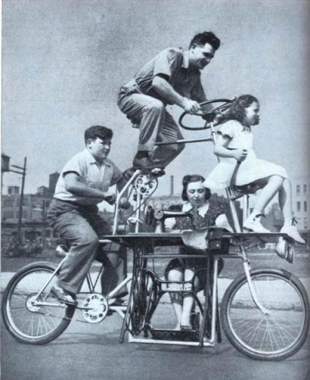 Xe đạp cho cả gia đình