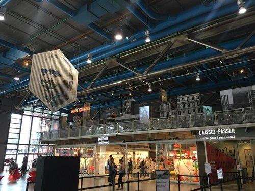 Trung tâm nghệ thuật đương đại Georges Pompidou (3 triệu lượt khách thăm quan năm 2015)