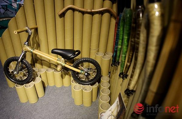 Hãng xe đạp bằng tre được sản xuất tại Việt Nam của hãng Viet Bamboo Bike được rất nhiều người quan tâm bởi mẫu mã đơn giản, lạ mắt.