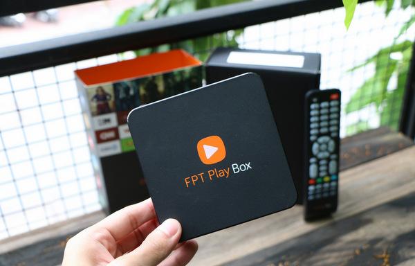 Hình ảnh sản phẩm FPT Play Box chính hãng do công ty FPT Telecom phân phối được bán trên thị trường