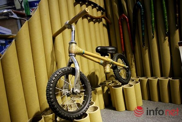 Những chiếc xe đạp của hãng này có khung được thiết kế hoàn toàn bằng tre - một loại cây rất đặc trưng của người Việt.