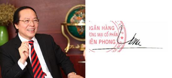 Những tỷ phú giàu nhất Việt Nam ký tên thế nào? - Ảnh 11.