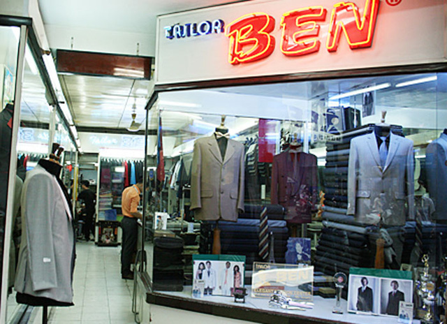Tiệm may BEN ở đường Lê Văn Sỹ, quận 3.