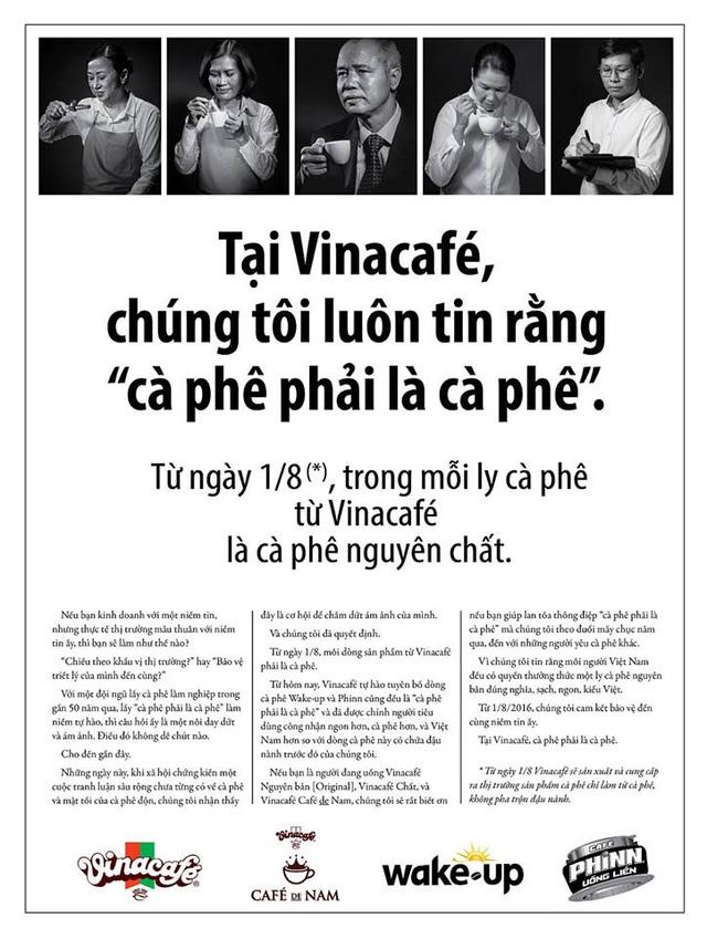 Quảng cáo của Vinacafe