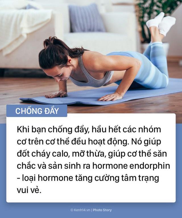 Những bài tập này sẽ giúp bạn có được sức khỏe tuyệt vời mà chẳng cần phải đến phòng gym - Ảnh 7.