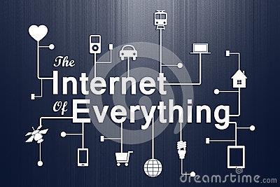 Lắp đặt internet cho mọi thứ. Ảnh: Dreamtimes.com
