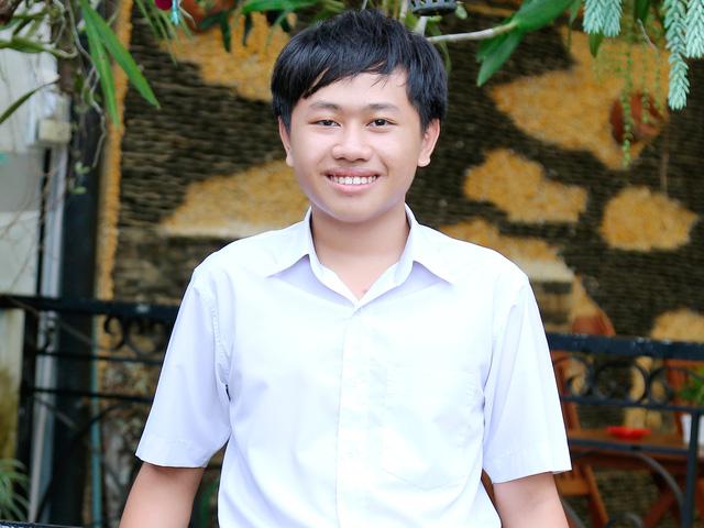 Chân dung lập trình viên Nguyễn Anh Khoa mới chỉ 15 tuổi