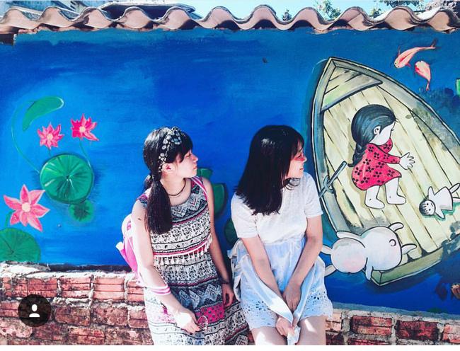 Bí quyết chụp ảnh dường như rất đơn giản: Hãy trở thành một phần của bức tranh! (@_haninee_)