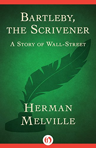 "bartleby the scrivener by herman melville essay Bartleby the scrivener - part 2 ""bartleby the scrivener, a story of wall street"" is a short story by herman melville in which the narrator, a lawyer who runs a firm on wall street, tells the story of a rebellious scrivener who worked for him named bartleby - bartleby the scrivener introduction."