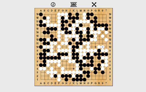Kỳ thủ Lee Sedol đã phải chấp nhận thất bại, đây là bàn cờ cuối cùng.