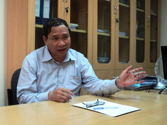 Ông Ma Quang Trung - Cục trưởng Cục Trồng trọt (Bộ Nông nghiệp và Phát triển Nông thôn).