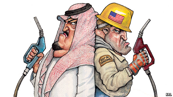 Cuộc chiến giá cả giữa 2 đại gia dầu khí là Ả Rập Xê Út và Mỹ đang gây thiệt hại cho cả đôi bên