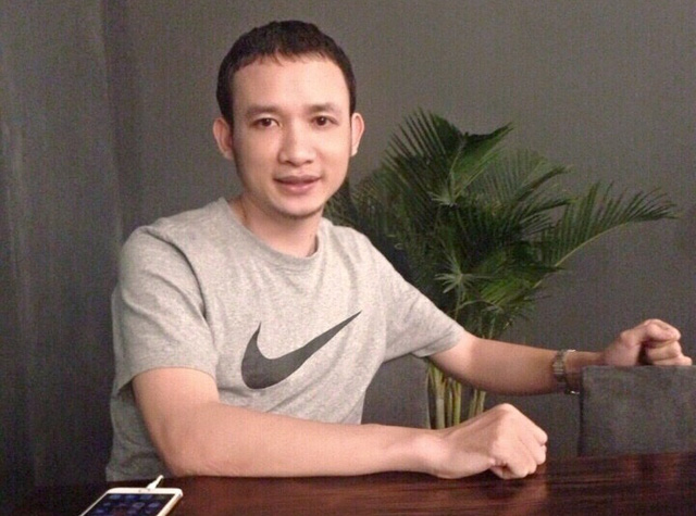 Anh Lê Kế Thọ - Người trong câu chuyện. Ảnh: NVCC