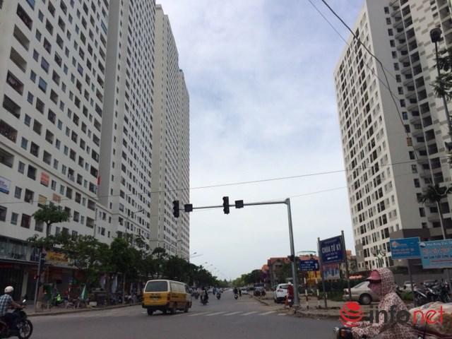 Chung cư tại khu đô thị Linh đàm (Hoàng Mai, Hà Nội) ngày càng mọc lên như nấm. Ảnh: Minh Thư