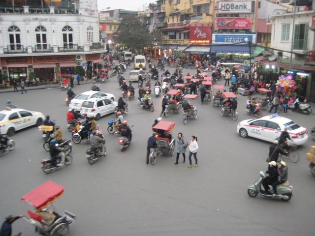 Đường phố Việt Nam.