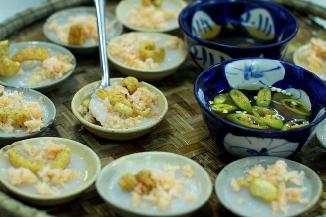 Bánh bèo Huế. (Ảnh: Xuân Mai/Vietnam+)