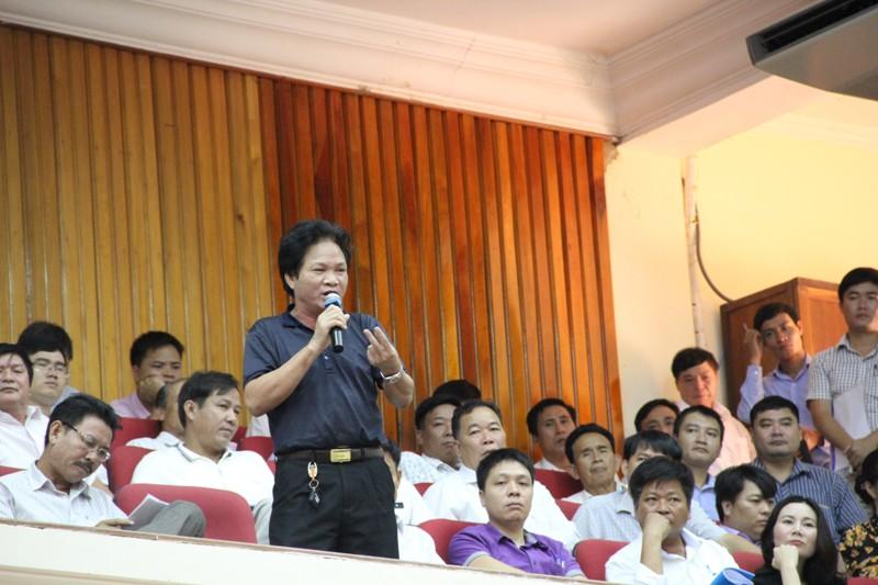 Ông Trần Phát Đạt, Chủ tịch hội DN Hương Khê