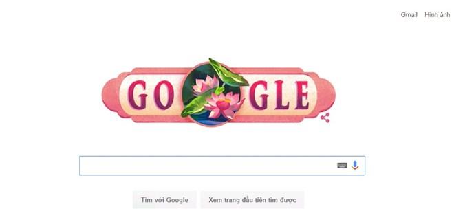 Ngày Quốc khánh 2/9 được kỷ niệm trên Google tìm kiếm.