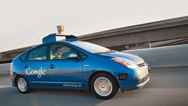Xe tự lái của Google.