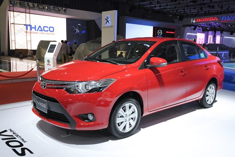 Giá bán của Toyota Vios tại Việt Nam vẫn cao hơn so với các quốc gia trong khu vực.