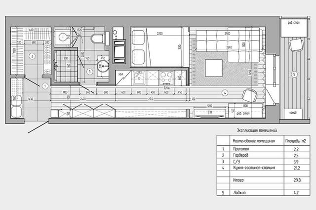 Đây là mô hình thiết kế toàn bộ căn hộ.