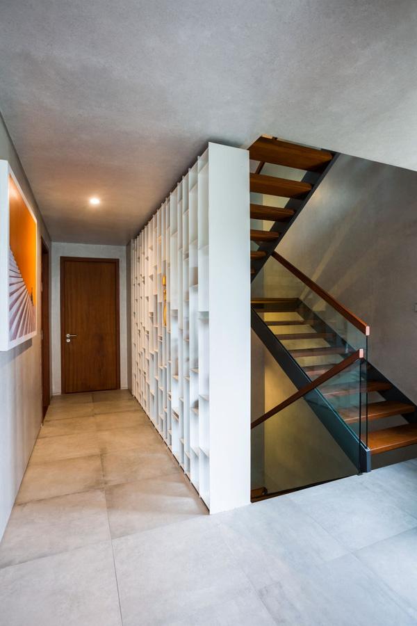 Các không gian thiết kế đơn giản, hiện đại, tạo nên sự gọn gàng, thư thái.