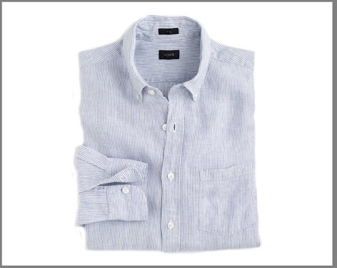 J.Crew Irish Linen Shirt ($79.50)