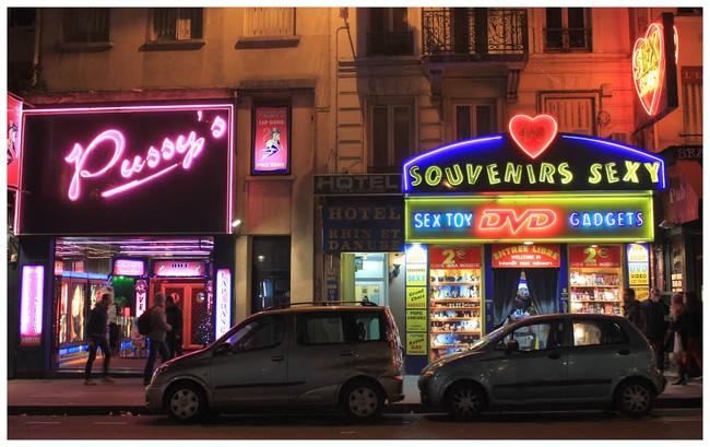 Một góc phố tại Pigalle
